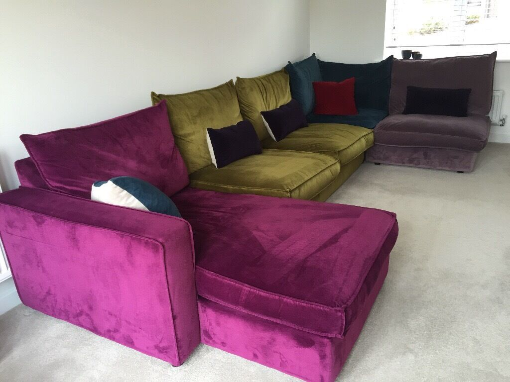 modular sofa in radstock somerset gumtree. Black Bedroom Furniture Sets. Home Design Ideas