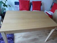 Oak Veneer Dining Table