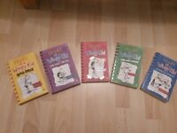 Diary of a Wimpy Kid (5 books in total)