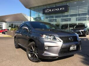2015 Lexus RX 350 F Sport Navi Backup Cam Bluetooth Sunroof