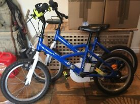 "16"" b twin police trooper kids child bicycle bike"