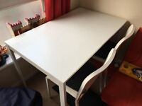 IKEA Melltorp Table & 4 Chairs