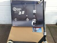 OXELO STUNT SCOOTER MF 3.6 BOXED BLACK / WHITE / SILVER