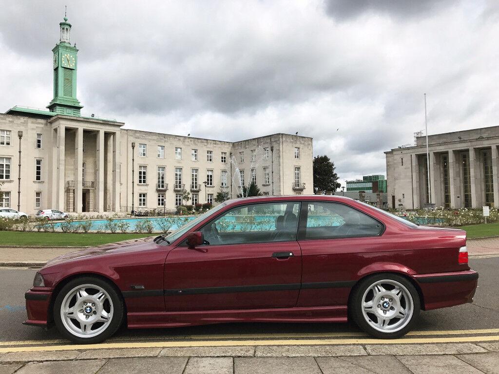 Bmw E36 323i Sport Coupe Calypso Red Read Spec E30 E39