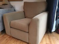 Beige armchair - excellent condition