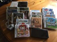 Nintendo DS XL + 16 various games.