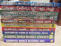 GUINNESS BOOK OF RECORDS - 10 COPIES