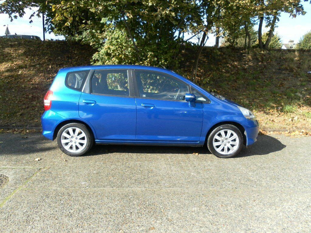 HONDA JAZZ 1.4 SE AUTOMATIC 2007 BLUE 85K S/HISTORY, HPI CLEAR, EXCELLENT CONDITION! NO FAULTS!!!