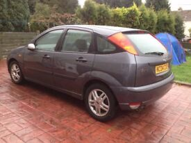 Quick sale ford focus 1.8 long mot