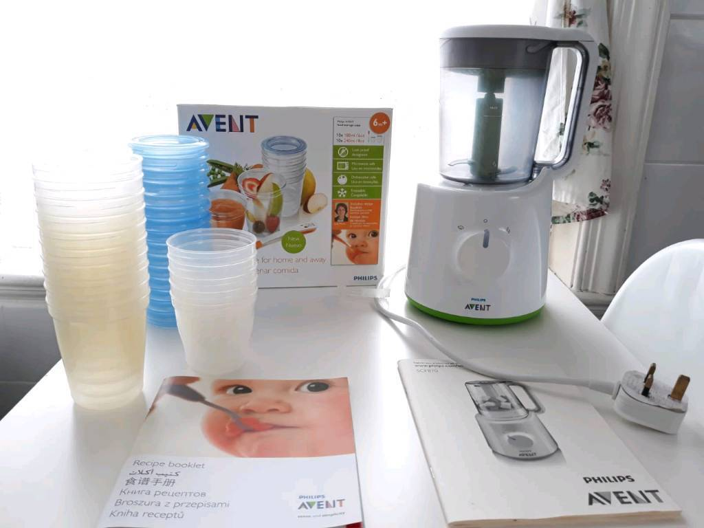 Philips Avent Combined Baby Food Steamer Blender Compact In Exeter Devon Gumtree
