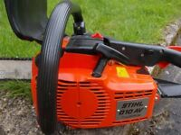 HERE FOR SALE STIHL 010 AV QUICKSTOP CHAINSAW