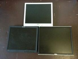 Monitors for sale 3 for £25