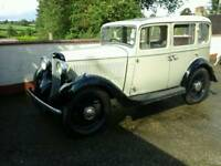 Classic car Hillman Minx pre war car in good working order 1935