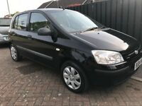 Hyundai Getz 1.5 diesel 2004 one family owner from new,long Mot,service history,cheap reliable car