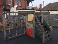 Children's play frame