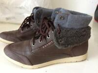 Esprit Brown Ankle Boots size 5