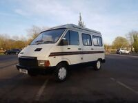 sleeps 4 renault traffic camper with long mot drives well