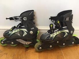 In line skates kids adjustable size 12-2