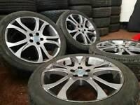 "Genuine OEM Subaru BRZ 17"" 5x100 alloy wheels vw seat skoda toyota rare"