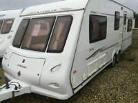 Compass rambler 26/6 2007 5/6 berth bunks both ends touring caravan