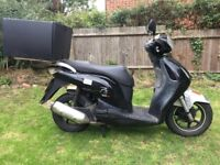 Honda PS 125 BLACK 2007 model (GREAT CONDITION)
