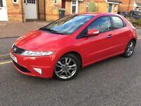 2011 Honda Civic 1.8 i-VTEC Si Hatchback Facelift 5 Doors Petrol Long MOT Low Mileage New Shape