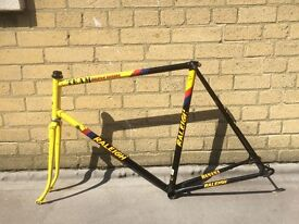 Team Raleigh Banana Paul Sherwin Bike Frame 60 inch / 23.5 cm Good Condition Cycling Bicycle