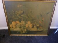 lovely old collectible vintage picture two