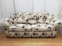 3 Seater Couch & matching cushions