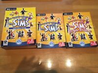 SIMS 1 TRIPLE DELUXE + THE COMPLETE COLLECTION OF EXPANSION PACKS PC GAMES