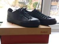 Black leather tonovi laced kickers