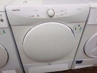 8KG HOOVER condenser dryer, excellent condition, 3 months warranty
