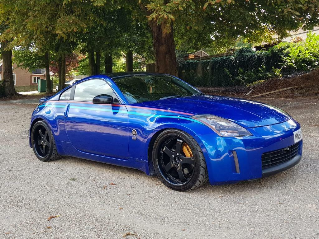 nissan 350z road track car modified manual in high. Black Bedroom Furniture Sets. Home Design Ideas