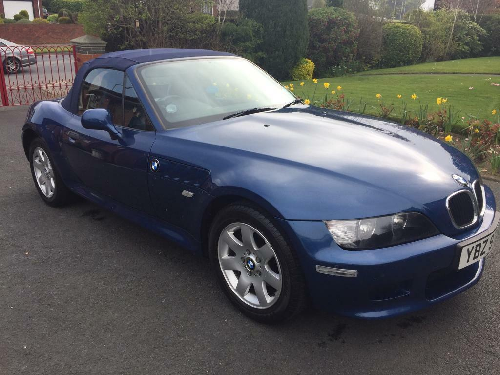 Bmw Z3 1 9 Convertible Year Sept 2000 Only 44583 Miles