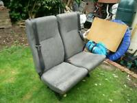 Ford transit double crew seats