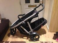 Phil and ted vibe double buggy pram stroller