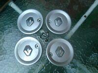 Renault Clio Alloy Wheel Centre Caps