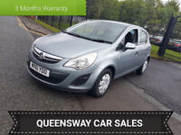 2011 VAUXHALL CORSA,1.2 S,85 BHP,12 MONTHS MOT,2 OWNERS,LOW MILEAGE,HPI CLEAR,P/X...
