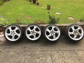 Porsche Turbo wheels/ RH Turbos with adaptors