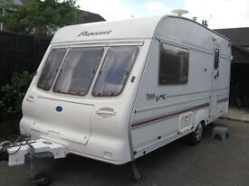 bailey pageant magenta 2 berth caravan for sale