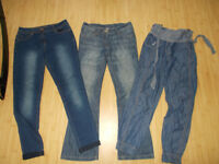 next jeans x 2 and 1 other age 10 to 12 years