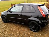 STUNNING 08 FORD FIESTA SPECIAL EDITION 1.4 FINISHED IN METALLIC PANTHER BLACK!