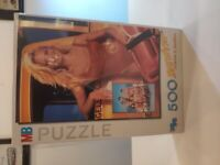 Vintage Retro Pair of MB Baywatch Jigsaw Puzzles - NOS