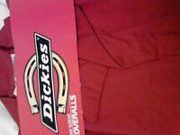 "Men's ""Dickies"" new overalls various sizes £10.00"