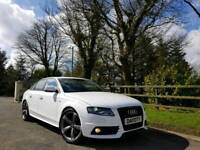 2011 AUDI A4 S LINE BLACK EDITION IBIS WHITE FINANCE AVAILABLE