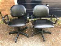 Pair of Salon / Hairdresser / Barbers Back Wash Chairs - Delivery Available
