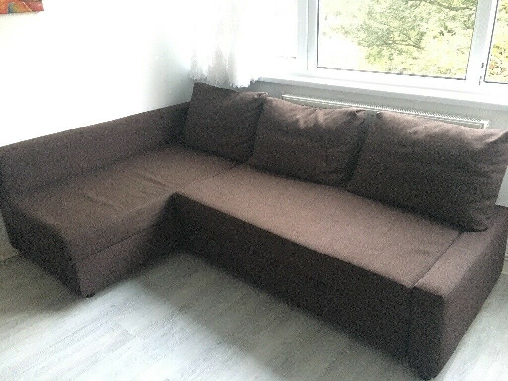 Ikea Friheten Corner Sofa Bed With Storage