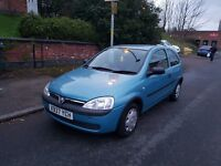 for sale vauxhall corsa low milleage 71000