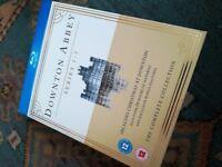 Downton Abbey 1-3, bluray