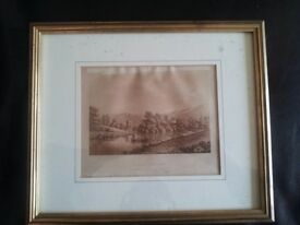 Goring, Late18thC. Framed Etching